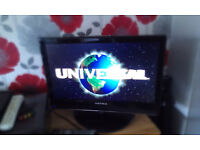 """matsui 22"""" lcd dvd combi with usb freeview hdmi /vga etc and remote control"""