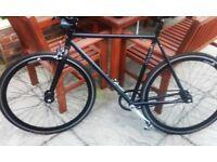 Mango Men's road bike Free wheeling reversible hub aka as freewheel