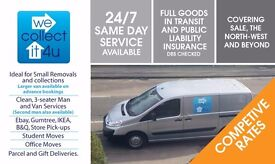 MAN & VAN, REMOVALS, COLLECTIONS & DISPOSALS. ALTRINCHAM, HALE, SALE , ALL OTHER MANCHESTER AREAS.