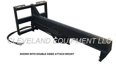 New 35 Ton Inverted Log Wood Splitter Attachment Bobcat Skidsteer Track Loader