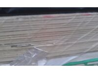 plasterboard sheets 12.5mm , 15mm 2.7m