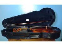 SET: Jay Haide Antique viola, M Francesco viola bow, BAM original shaped viola case