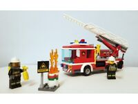 Lego City - Fire Ladder Truck (Fire Engine, 60107)