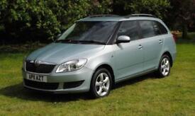 SKODA FABIA 1.6 SE TDI CR 5d 89 BHP 6 Months Bluechip Warranty (green) 2011