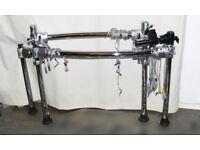 Roland V Drums MDS-25 chrome drum rack integral crystal cables PRO stand Excellent td30 td20