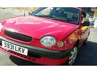 Toyota COROLLA 1.3 LPG FOR QUICK SALE £500(NOT honda,nissan,bmw,mazda,diesel,ford,vauxhall)