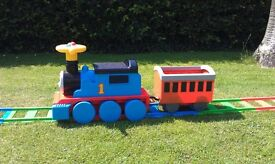Thomas the tank kids electric ride on