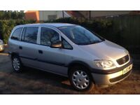 Vauxhall Zafira 1.6 Club 7 Seater MPV. 12 Months MOT. Excellent condition in and out.Well maintained