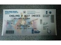 Cricket Ticket for sale