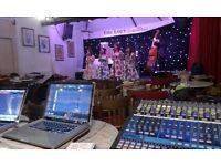 PA Hire, Backline, Speaker Rental and High End Live Sound System Services