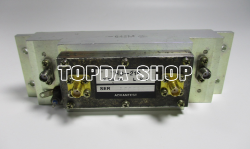 used ADVANTEST THD-219 3.95GHz 2.4GHz electrically tunable bandpass filter