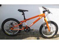 "Calibre ripple 20"" boys fat tyre bike"