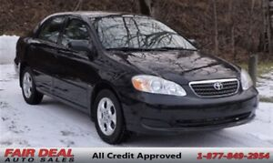 2006 Toyota Corolla CE: Power Sunroof/5 Speed Manual