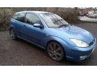 2003 Ford Focus 1.8 Blue Mot 27 May