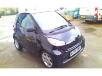 2008 SMART FORTWO 1.0 PURE 2DOOR COUPE, FULL SERVICE HISTORY, HPI CLEAR, DRIVES LIKE NEW, CLEAN CAR