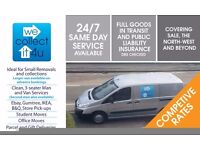 MAN & VAN, REMOVALS, COLLECTIONS. SALE, ALTRINCHAM, HALE, CHEADLE. STUDENT MOVES