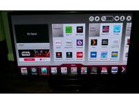 50 LG 50PH670V Full HD 1080p, Freeview HD, 3D, Smart Slim Plasma TV with Remote control and AC lead