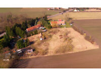1.5 Acre Germany Property For Sale With Building Open Views Overseas