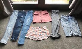 Large bundle size 6/8 clothes 30 ITEMS