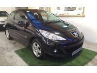 2010 PEUGEOT 207 1.4 VERVE 3DOOR HATCHBACK, SERVICE HISTORY, HPI CLEAR, DRIVES LIKE NEW, CLEAN CAR