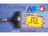 Only £ 12 per hour for fully profesional domestic cleaning!