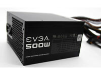 EVGA 500W 80 PLUS White certified PC Power Supply with 80% efficiency