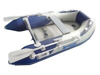 Quality inflatable dinghy - 2.7m airdeck