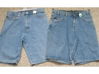 Mens/Boys Denim Shorts sizes 29 and 30. £2.50 each