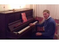 Piano Accompaniment in your home or at mine near Woodside Park tube