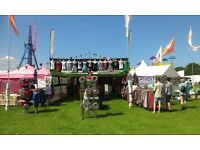 Summer Job - European Music Festivals - clothing shop - sales staff wanted