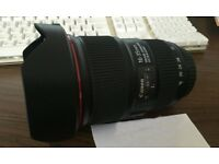 Canon 16 - 35mm f4 L - IS - Mint condition