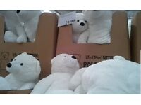 White bear toy