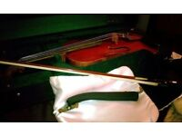 "REDUCED! VIOLA 16"" Baroque Hermann Bischofberger & Erich Steiner Bow & CASE"