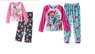 Mlp Pajamas (NWT ☀MY LITTLE PONY☀ Girls  Pajamas MLP  New   10   )