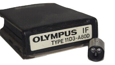 Olympus Industrial Fiberscope If 11d3-a80d If Optical Tip Adapter
