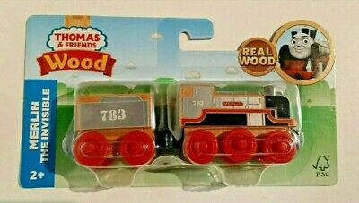 New Thomas The Train & Friends Wooden Merlin The Invisible 2017 Tank Engine car
