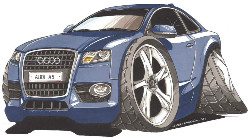 show travel parts for Audi A5
