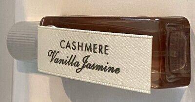VICTORIA SECRET eau de PARFUMS INTIMES -CASHMERE Vanilla Jasmine EDP perfume .25