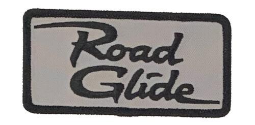 BLACK ON GRAY ROAD GLIDE PATCH JL175