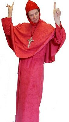 Medieval/1970's Monty Python's SPANISH INQUISITION Fancy Dress Costume SML-XXXXL