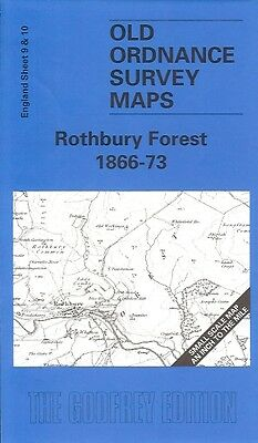"Ordnance Survey 1"" First Series Map Rothbury Forest Iwrote intro 1999 Amble Coal"