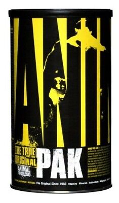 Animal Pak 44 Packs - Training Supplement with Multivitamins, Amino Acids,