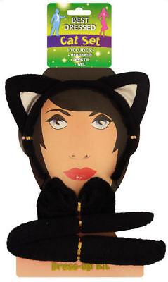 Schwarze Katze Satz - 3-tlg. - Junggesellinnenabschied (Jungen Aufblasbare Kostüm)