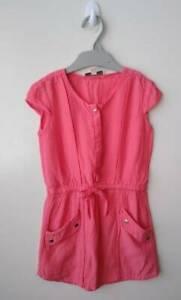 WITHCHERY Girls 100% Viscose Dress - Size 4