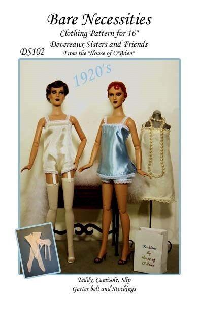 DS102 Bare Necessities pattern Deveraux Sisters, Tonner