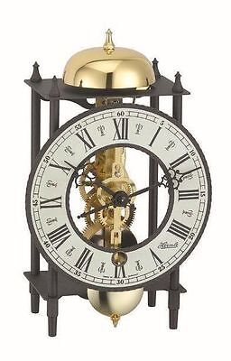 Hermle Table Clock (HERMLE Table Mantel Clock mechanical 8-day movement skeleton clock Made Germany )