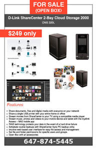 *** Holiday Sale *** D-Link 2-Bay Cloud Storage 2000 - $249 only