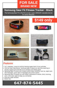 Samsung Gear Fit Fitness Tracker - Brand New - $149 only
