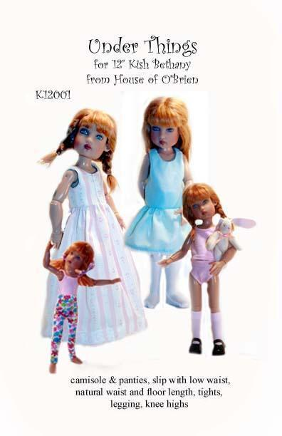 """K12001 Under Things pattern for 12""""  Kish Bethany"""