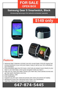 Samsung Gear S Smartwatch - Black colour - Brand New - $149 only